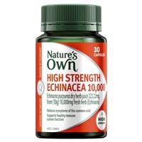 Nature's Own High Strength Echinacea 10000mg 30 Caps