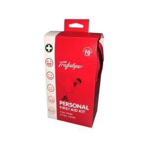 Trafalgar Personal First Aid Kit - 62 Piece