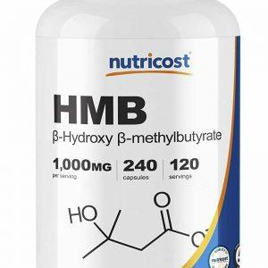 Nutricost HMB 1000mg, 240 Capsules