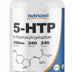 Nutricost 5 HTP 100mg, 240 Capsules