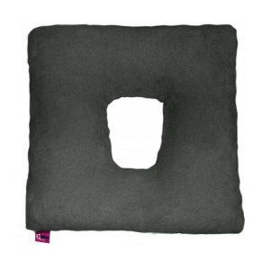 Ubio Square Donut Cushion - Grey