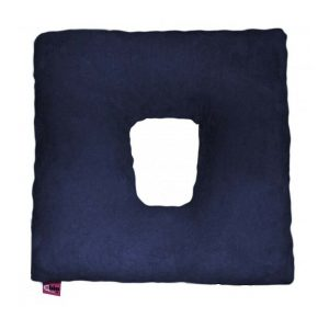 Ubio Square Donut Cushion - Navy Blue