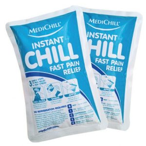 MediChill Instant Ice Packs, Box of 25