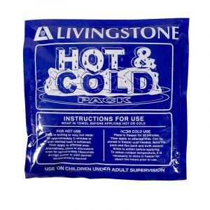Livingstone Blue Gel Hot/Cold Pack 250 x 250mm