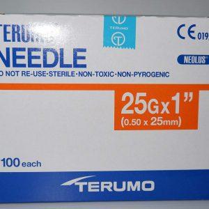 Terumo Needle 25G x 1