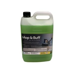 mop & Buff / Sealed and Shiny Floor Cleaner & Maintainer