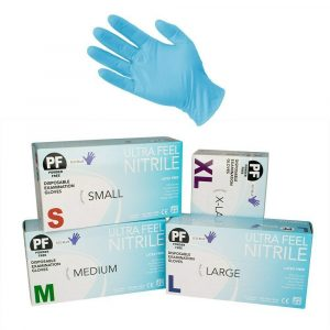 Ultra Feel Nitrile Medical Examination Gloves