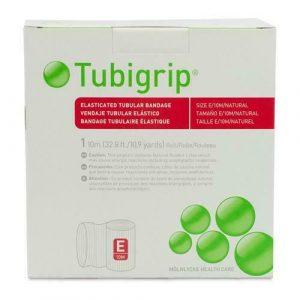 Tubigrip Size E Elasticated Tubular Bandage, 24-28cm circumference, 10m