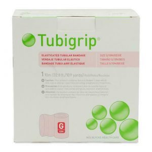 Tubigrip Elasticated Tubular Bandage, Size G, 36-48cm Circumference, 10m
