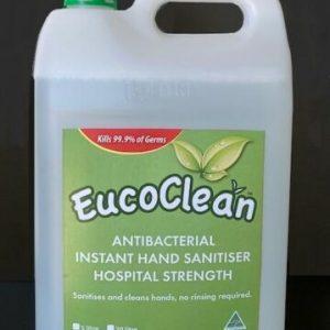 5L - Eucoclean 'Organic' Anti-Bacterial Hospital Graded Hand Sanitiser